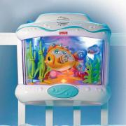 veilleuse aquarium pour lit de b b fisher price kadolog. Black Bedroom Furniture Sets. Home Design Ideas