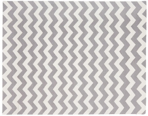 tapis chevron gris blanc kadolog. Black Bedroom Furniture Sets. Home Design Ideas